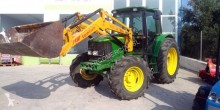 Tractor agrícola tractora antigua John Deere nc 6320