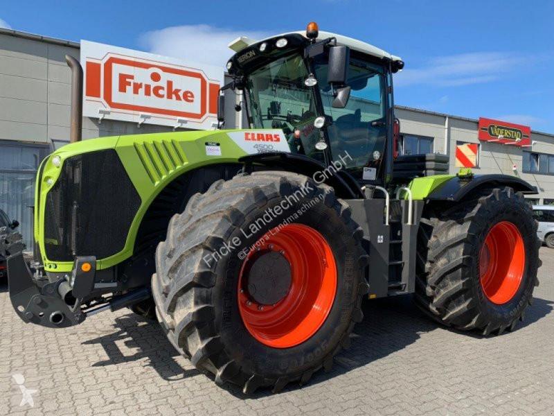 Преглед на снимките Селскостопански трактор Claas Xerion 4500 Trac