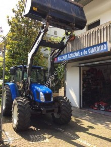 Tracteur agricole New Holland TL100/A con pala cc 4485 turbo occasion