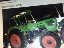 tracteur agricole Deutz-Fahr D 6806 DT