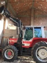 Tractor agrícola Massey Ferguson MF 1500 690 turbo con Pala più cabina usado