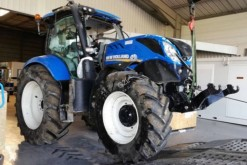 tracteur agricole New Holland T7.210 RC*ACCIDENTE*DAMAGED*UNFALL*