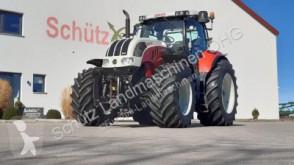 tractor agrícola Steyr CVT 6230 ET, Frontzapfwelle, Neue Reifen