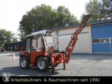 Carraro Traktor Carraro Tigertrac 2500 mit Bagger használt mezőgazdasági traktor