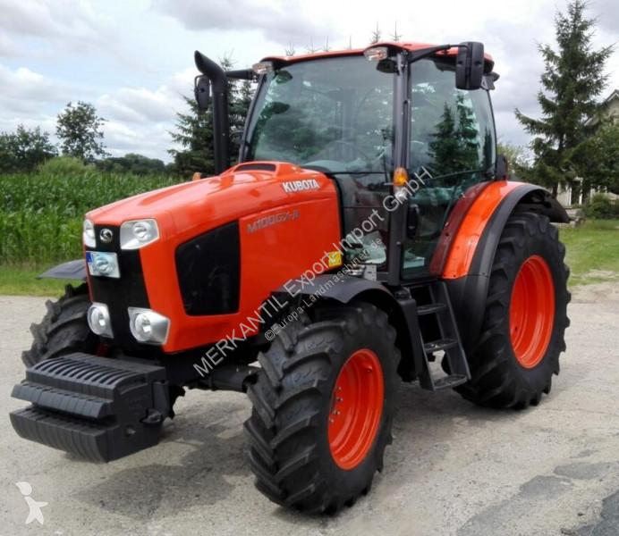Преглед на снимките Селскостопански трактор Kubota M 100 GX II