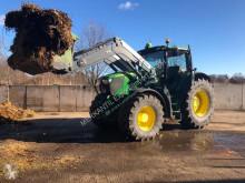 tracteur agricole John Deere 6190 R Autopower + Frontlader