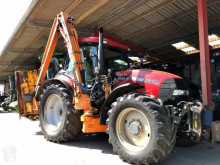 ciągnik rolniczy Case MXU 115 mit Herder Mulcher