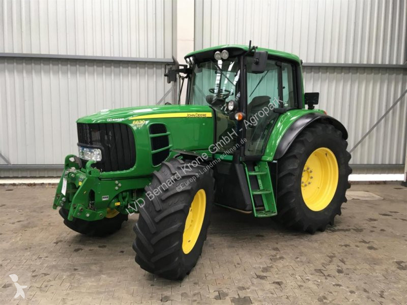 Se fotoene Landbrugstraktor John Deere 6630 Premium