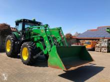 tracteur agricole John Deere 7215R mit H480 Frontlader John Deere + Getriebe Autoquat