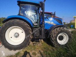 Used farm tractor New Holland