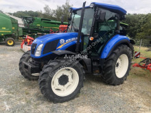 New Holland TD 5.65 farm tractor used