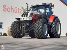 Mezőgazdasági traktor Steyr CVT 6230 ET, Frontzapfwelle, Neue Reifen, Kommunalplatte, 3900Bh, Case Puma 230 használt