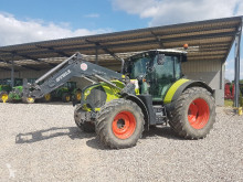 Tracteur agricole Claas Arion 630 + Stoll FZ