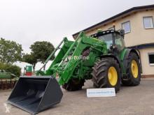 Tractor agrícola John Deere 6215R + FZW + FL usado