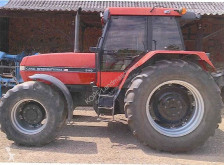 Case Maxxum 5140 farm tractor used