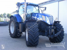 New Holland farm tractor used