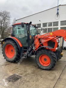 Kubota M 128 GX farm tractor used