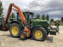 John Deere 6140 R mit Gödde Mittelachsausleger Landwirtschaftstraktor gebrauchter