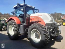 Steyr 6160 CVT NEUE REIFEN farm tractor used