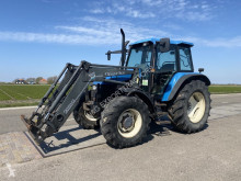 New Holland TS110 farm tractor used