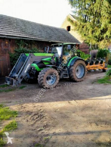 Deutz TTV 1160 + Huard + Q75 farm tractor used