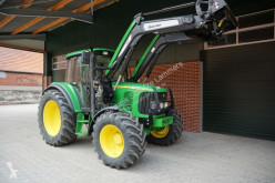 Tracteur agricole John Deere 6220 + Quicke Q5m Lader occasion