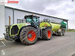Mezőgazdasági traktor Claas Xerion 5000 + Kotte használt