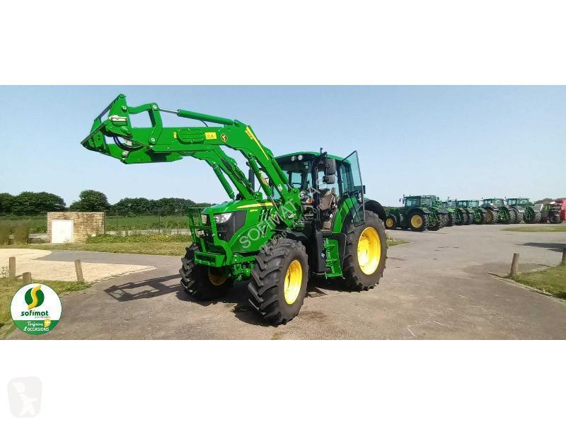 View images John Deere 6110M farm tractor