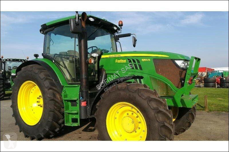 View images John Deere 6150R farm tractor