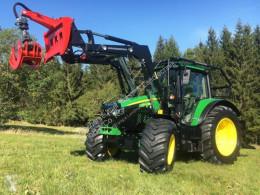 John Deere 6120M UVV Schlepper Lesnický traktor použitý