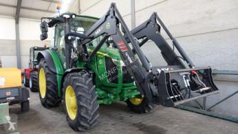 Tracteur agricole John Deere 5100 R + MX 406