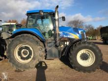 Tractor agrícola New Holland T 8040 usado