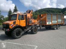 Tractor agrícola Unimog U 1600 (427/52-114) Mulag SB500V Fliegl TPS 100 usado