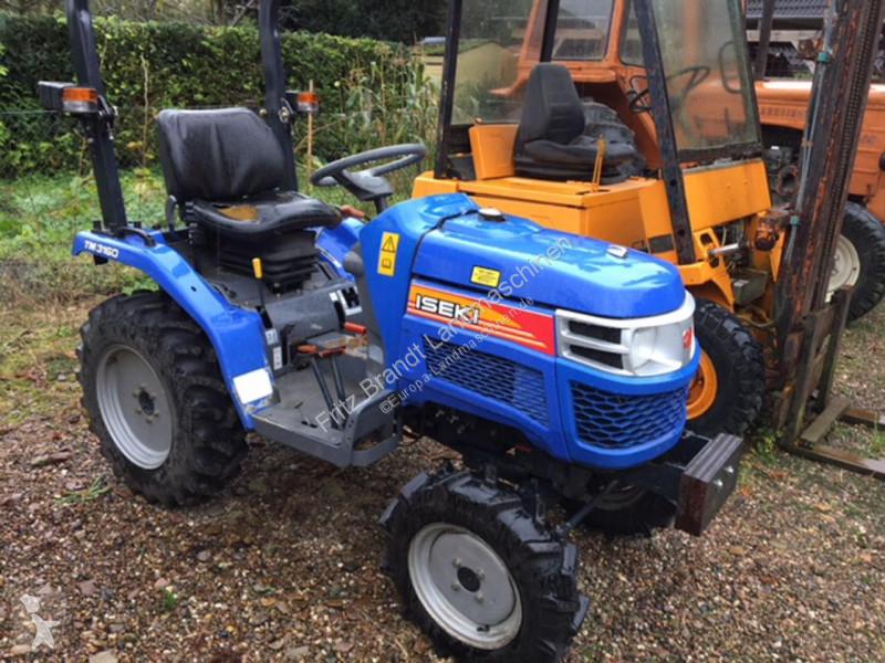 Преглед на снимките Селскостопански трактор Iseki TM 3160