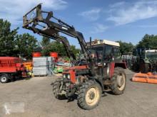 Tractor agrícola Zetor 5245 Kabine Frontlader Traktor Schlepper DDR