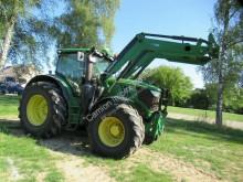 Tractor agricol John Deere 6195 R, Klima, Allrad, Frontlader Quicke Q76 second-hand