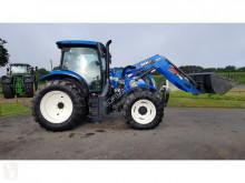 Tractor agrícola New Holland T6125 usado