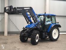 New Holland TS 115 FL farm tractor used