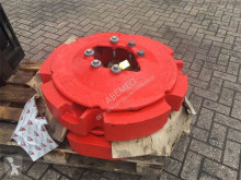 Fendt wielgewichten 2 x 300 kg met montageplaten Pièces tracteur occasion