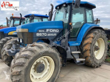 Ford NEW HOLLAND 8670 farm tractor used