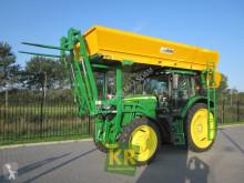 John Deere farm tractor 6155R AP50km met bunkerdak