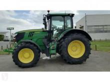 View images John Deere 6195R farm tractor