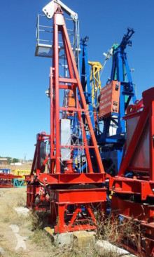 Saez s 46 opcion base y cabina used tower crane