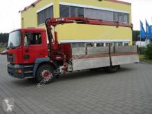 Camion MAN - 18.224 /4x2 18.224 4x2 mit Kran Hiab 102-2, 2x VORHANDEN! plateau occasion