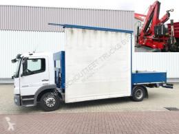 Camion occasion Mercedes Atego 1224 L 4x2 Atego 1224 L 4x2 Glastransporter mit Heckkran Palfinger PK9001, Funk