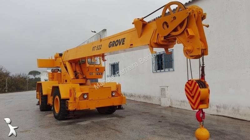 Ver as fotos Grua Grove RT 522