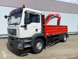 Camión MAN TGA 18.400 4x4H BL TGA 18.400 4x4H BL Pritsche Heckkran PM17523, Hydrodrive caja abierta usado