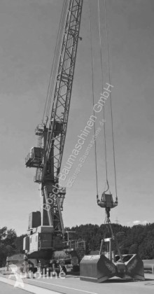 Liebherr LHM250 used port crane
