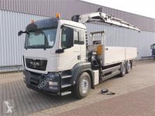 camion MAN TGS 26.360 6x2-4 BL TGS 26.360 6x2-4 BL, Lenk-/Liftachse, Kran Hiab 166 D-4 HiDuo, Funk