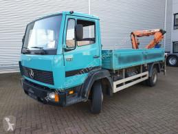 Camião Mercedes LK 814 4x2 LK 814/ 4x2, Pri. Tirre Kran 035, 6,10 m - 540 kg, estrado / caixa aberta usado